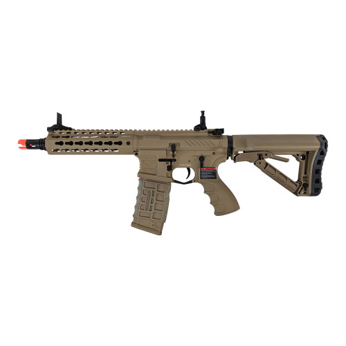 G&G CM16 SRS M4 AIRSOFT SBR AEG FDE for $214.99 at MiR Tactical