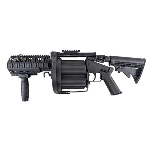 MULTIPLE GRENADE AIRSOFT LAUNCHER BLACK for $169.99 at MiR Tactical