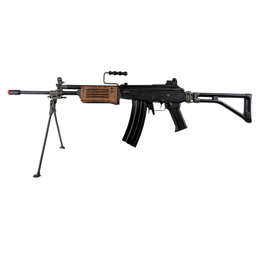 ICS GALIL ICAR AIRSOFT LMG AEG - BLACK for $389.99 at MiR Tactical