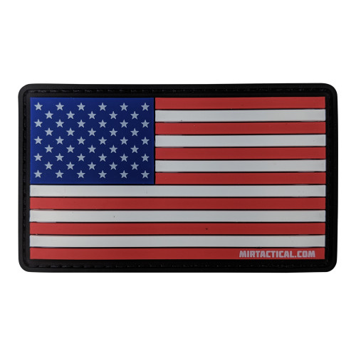 MIR TACTICAL US FLAG PVC PATCH W/VELCRO