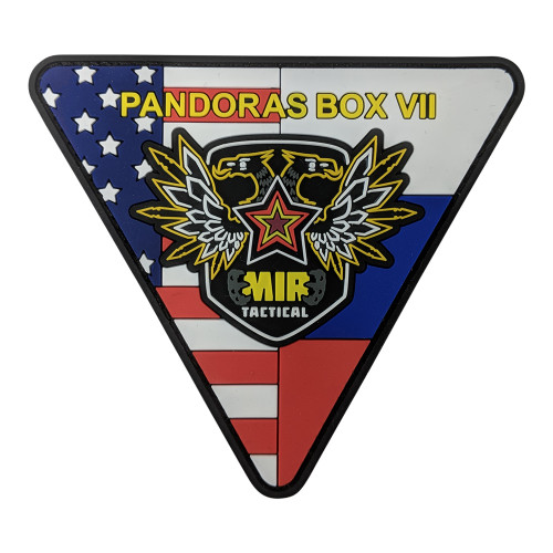 MIR TACTICAL PANDORA BOX 7 PVC PATCH W/VELCRO for $3.49 at MiR Tactical