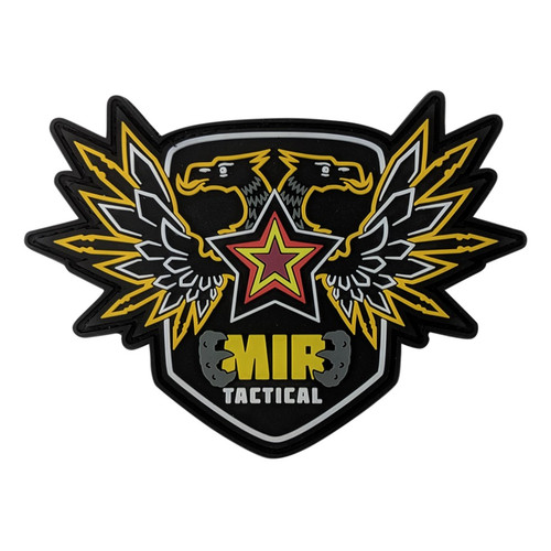 MIR TACTICAL EAGLE LOGO PVC PATCH W/VELCRO