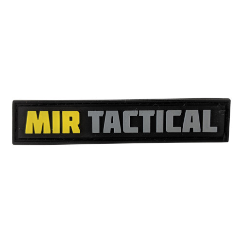 MIR TACTICAL TAB PVC PATCH W/VELCRO
