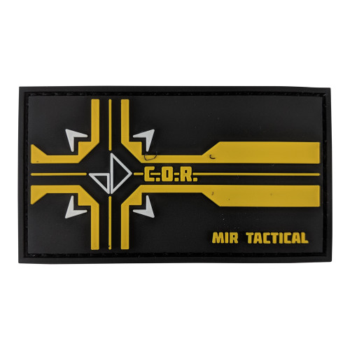 MIR TACTICAL COR PVC PATCH W/VELCRO for $4.99 at MiR Tactical