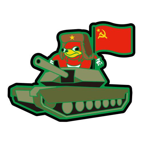 UGANDAN KNUCKLES TANK PVC PATCH W/ VELCRO for $9.99 at MiR Tactical