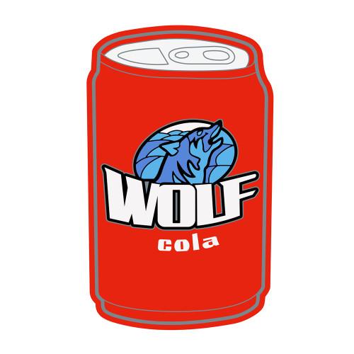WOLF COLA PVC PATCH W/ VELCRO
