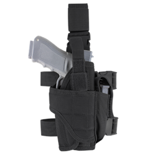 TORNADO TACTICAL LEG HOLSTER LEFT - BLACK for $19.99 at MiR Tactical