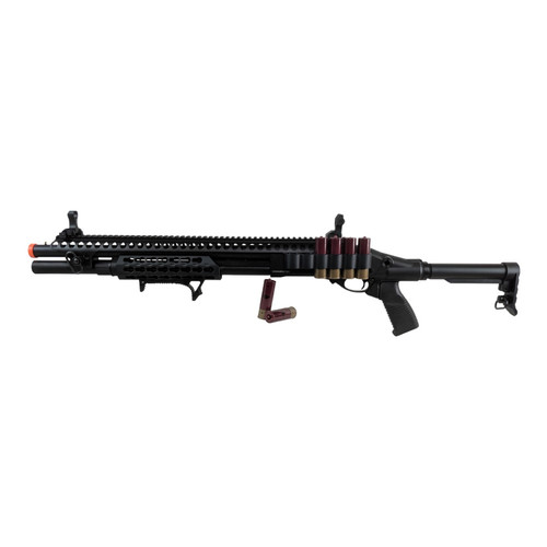 JAG ARMS GAS SCATTERGUN SPX AIRSOFT SHOTGUN - BLACK for $304.99 at MiR Tactical