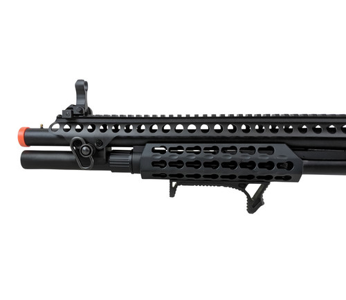 JAG ARMS GAS SCATTERGUN SPX AIRSOFT SHOTGUN - BLACK