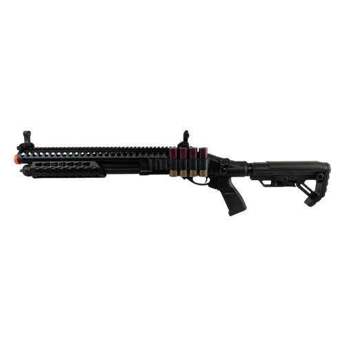 JAG ARMS GAS SCATTERGUN SPX2 AIRSOFT SHOTGUN - BLACK