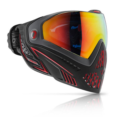 DYE I5 PAINTBALL MASK FIRE RED/BLACK for $179.95 at MiR Tactical