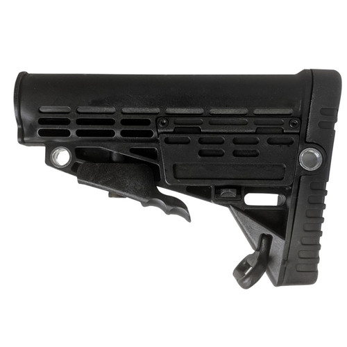 ENHANCED POLYMER STOCK COMPACT BLACK for $44.95 at MiR Tactical