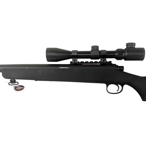 JG VSR-10/BAR-10 BOLT ACTION AIRSOFT SNIPER RIFLE - BLACK (PACKAGE: INCLUDES 3-9X40 SCOPE)