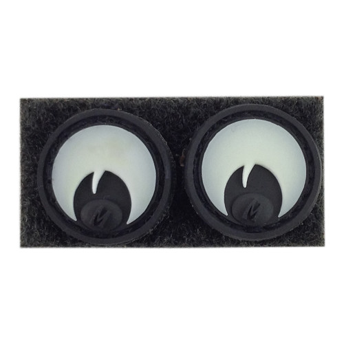 GOOGLY EYES GLOW PATCH - 2CT for $9.99 at MiR Tactical