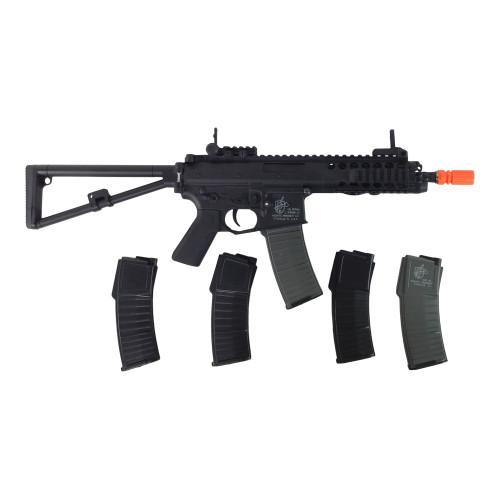LANCER TACTICAL KNIGHTS PDW AIRSOFT GUN CERTIFIED