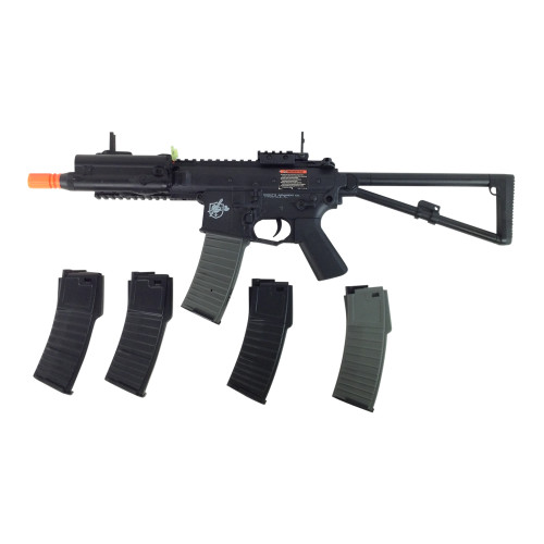 LANCER TACTICAL KNIGHTS PDW AIRSOFT GUN CERTIFIED