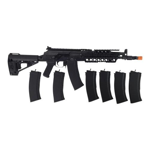 EL AK 150 AIRSOFT GUN CERTIFIED