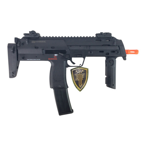 ELITE FORCE H&K MP7 NAVY AIRSOFT SMG AEG - BLACK