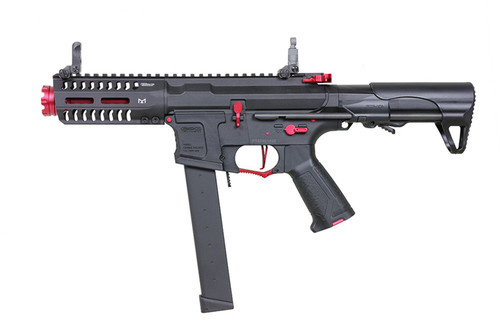 G&G CM 16 ARP 9 AIRSOFT SMG AEG - RED FIRE