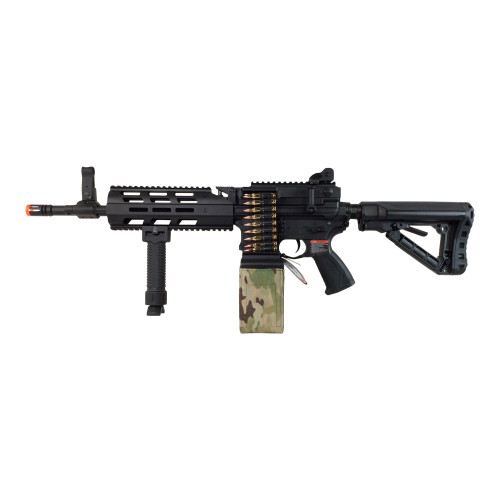 G&G CM16 LMG AIRSOFT LMG AEG - BLACK for $399.99 at MiR Tactical