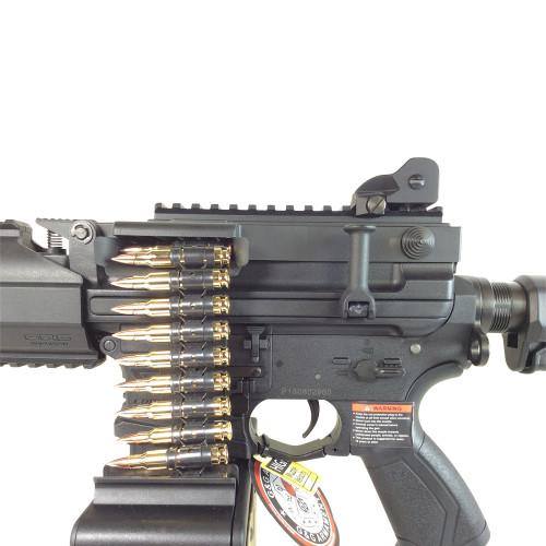 G&G CM16 LMG AIRSOFT LMG AEG - BLACK