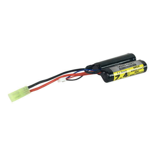 7.4V 2500 MAH 30C LI-ION BATTERY NUN CHUCK for $34.99 at MiR Tactical