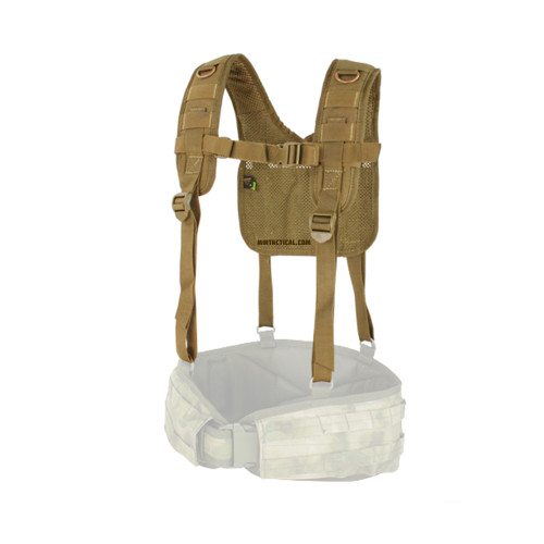 H-HARNESS COYOTE BROWN for $19.99 at MiR Tactical