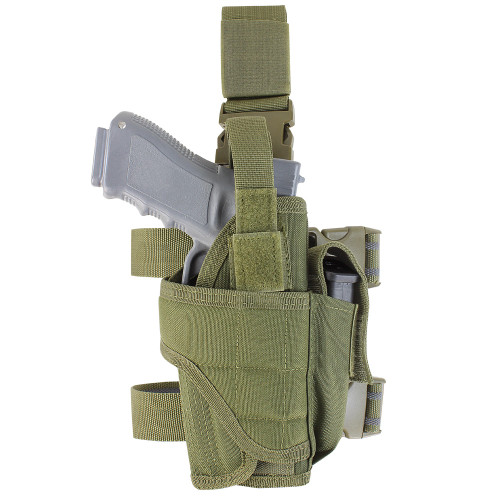 TORNADO TACTICAL LEG HOLSTER RIGHT -OD GREEN for $19.99 at MiR Tactical