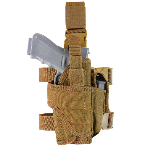 TORNADO TACTICAL LEG HOLSTER RIGHT -COYOTE BROWN for $19.99 at MiR Tactical