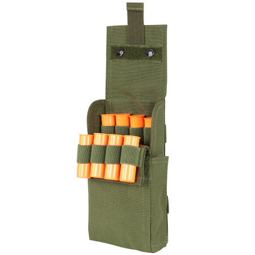 25 ROUND SHOTGUN RELOAD POUCH OD GREEN