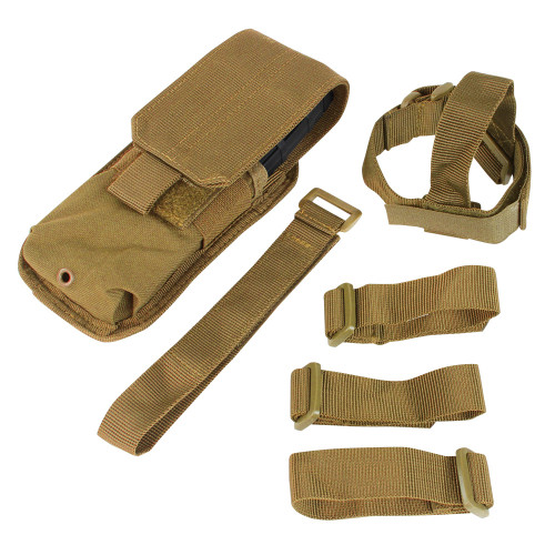 M4 BUTTSTOCK MAG POUCH COYOTE for $14.99 at MiR Tactical