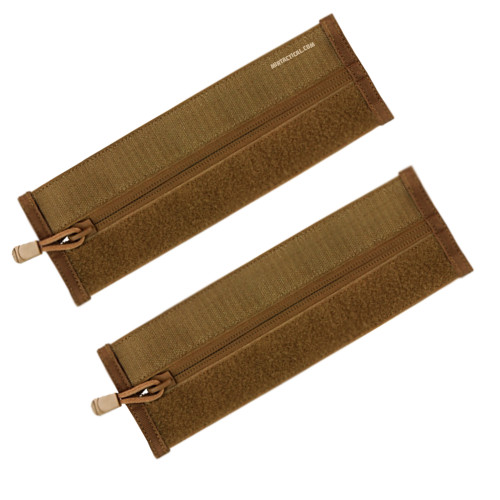 ZIPPER STRIP 2 PACK COYOTE for $9.95 at MiR Tactical