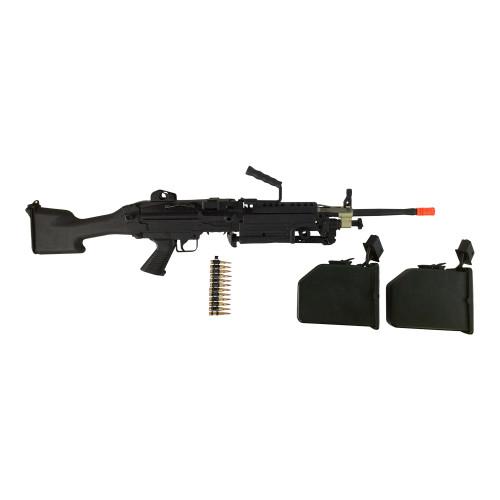 A&K M249 AIRSOFT GUN CERTIFIED