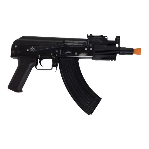 CYMA AK SHORT SMG AEG BLACK CERTIFIED USED  AIRSOFT RIFLE