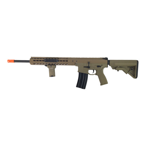 LANCER TACTICAL WARLORD CARBINE AEG TAN  CERTIFIED USED  AIRSOFT for $109.99 at MiR Tactical