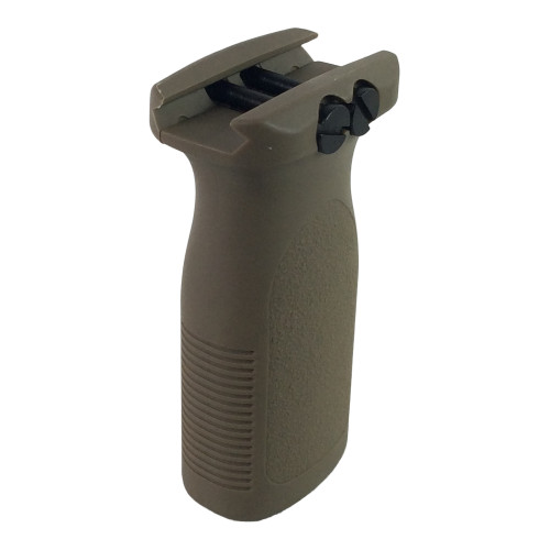 FMA FVG VERTICAL FOREGRIP - FDE for $19.99 at MiR Tactical