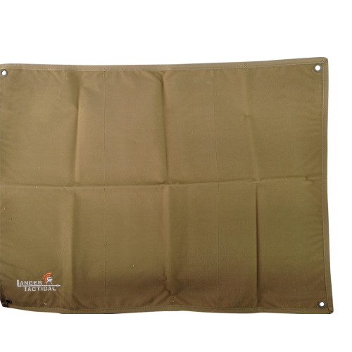 LANCER TACTICAL NYLON PATCH COLLECTOR PANEL - FDE for $19.99 at MiR Tactical