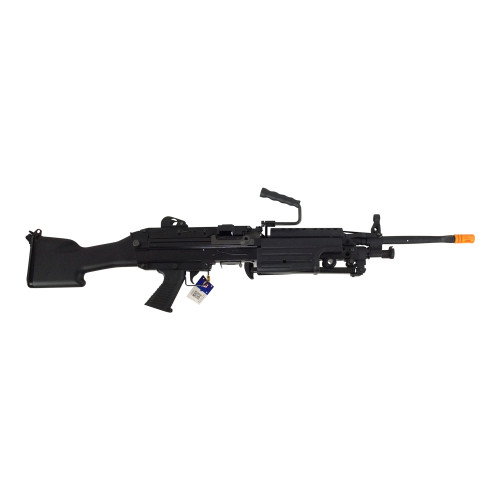 CLASSIC ARMY M249 MKII SAW AIRSOFT LMG AEG - BLACK for $349.99 at MiR Tactical