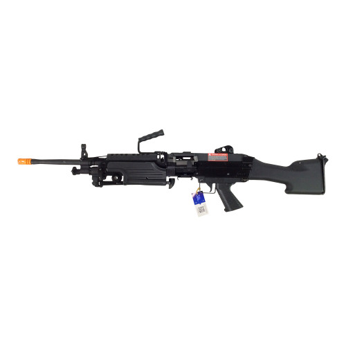 CLASSIC ARMY M249 MKII SAW AIRSOFT LMG AEG - BLACK