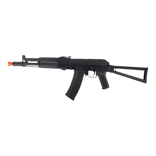LANCER TACTICAL AK-104 AIRSOFT CARBINE AEG - BLACK for $184.99 at MiR Tactical