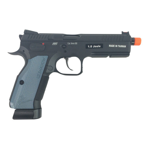 ASG CZ SHADOW 2 CO2 GAS BLOWBACK AIRSOFT PISTOL - BLACK for $179.99 at MiR Tactical