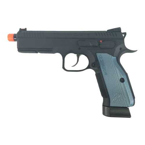 ASG CZ SHADOW 2 CO2 GAS BLOWBACK AIRSOFT PISTOL - BLACK
