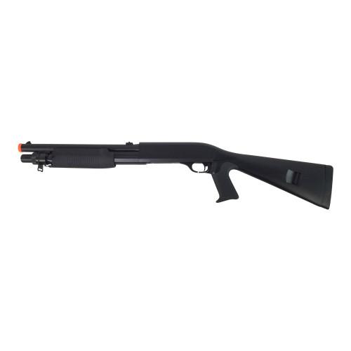 DOUBLE EAGLE M56A TRI-SHOT SPRING SHOTGUN PISTOL GRIP FIXED STOCK