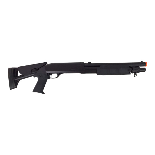 DOUBLE EAGLE M56C TRI-SHOT SPRING SHOTGUN FOLDING STOCK for $49.99 at MiR Tactical