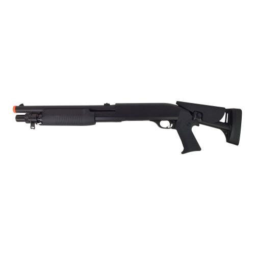 DOUBLE EAGLE M56C TRI-SHOT SPRING SHOTGUN FOLDING STOCK