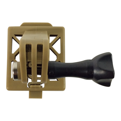 FMA AC-887T CAMERA MOUNT FOR TACTICAL HELMETS - FDE