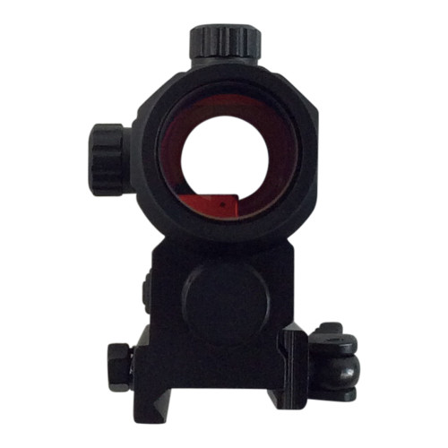 V TACTICAL DIGITAL MINI RED DOT SIGHT BLACK W/DQ MOUNT