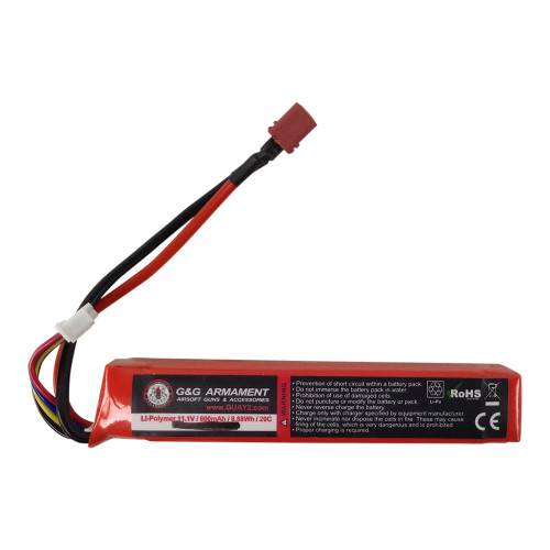 BATTERY 11.1 800MAH 20C DEANS LIPO for $34.99 at MiR Tactical