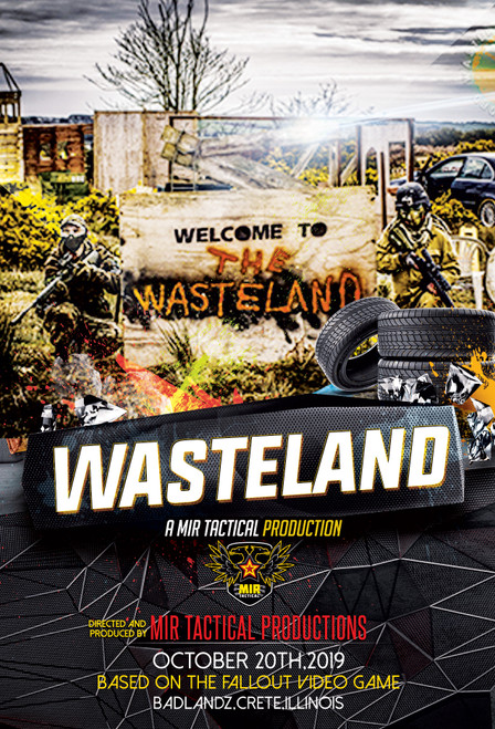 WASTELAND: 2019 TICKET for $35 at MiR Tactical