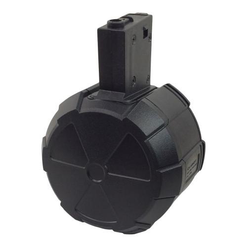 ICS ADAPTIVE 2000 ROUND ELECTRIC DRUM MAGAZINE 2000 ROUND FOR M4/M16 - BLACK